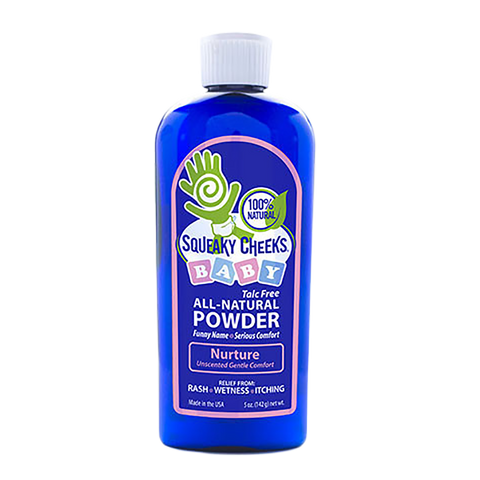Talc Free Unscented Baby Powder Unscented Foot and Body Powder