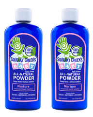 Nurture Unscented Talc Free Powder 2 Bottles