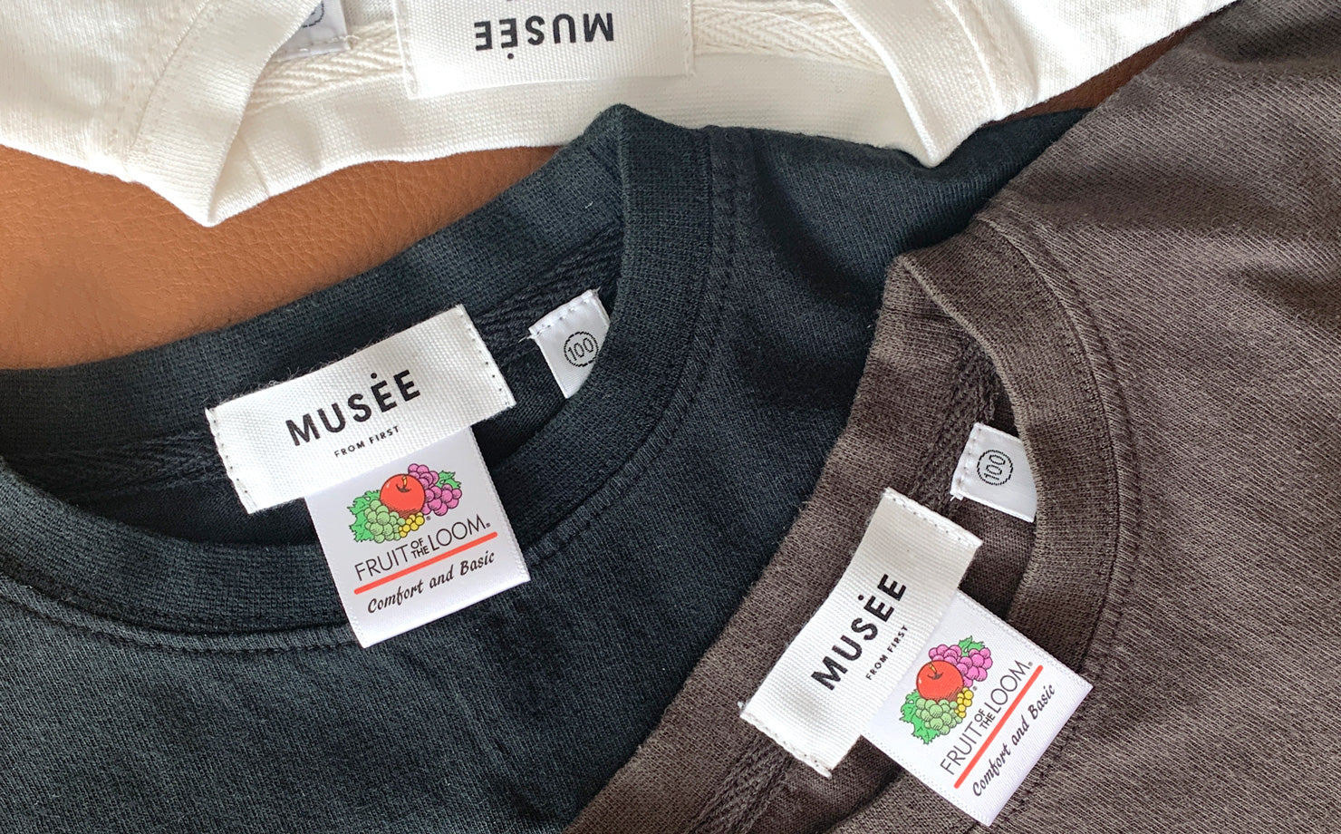 FRUIT OF THE LOOM × MUSEE 別注 KIDS Tシャツ