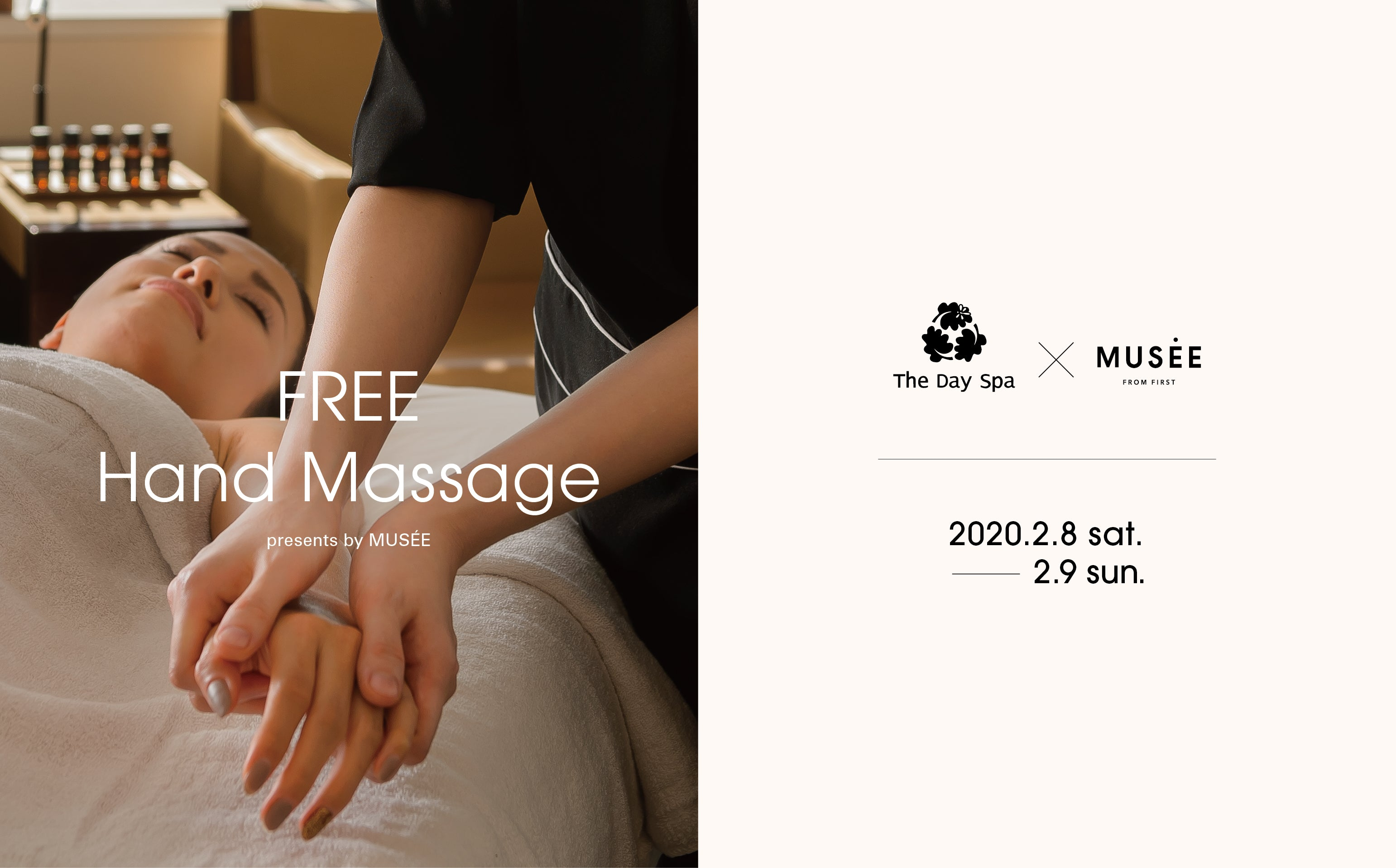 The Day Spa FREE Hand Massage