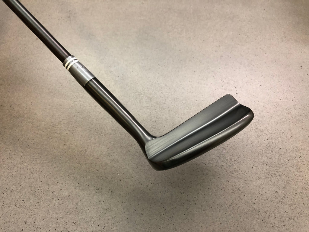 Miura Golf Putter KM-008 Black Boron No. 72 with Titanium Black Putter Shaft Limited Edition - torque golf