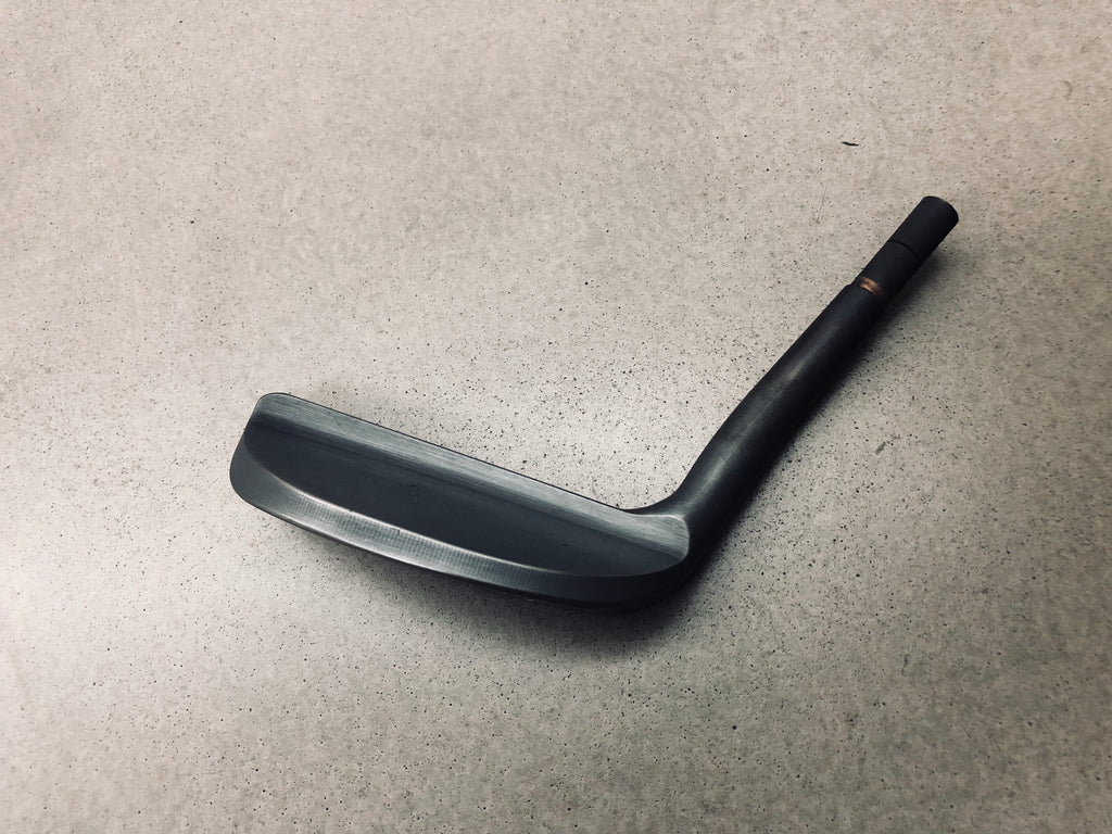 Yamada Golf Razor Lefty Putter in Smoke Black Head Only - torque golf