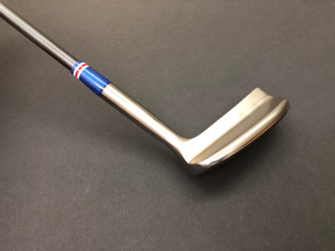 Miura Golf Putter KM-008 Smoked with Blue Edition Sakura Cover - torque golf