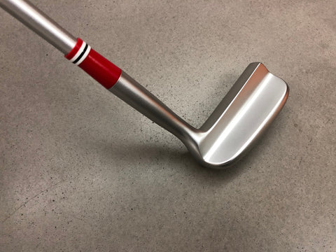 Miura Golf Putter KM-008 White Boron with Sakura Cover - Red Edition