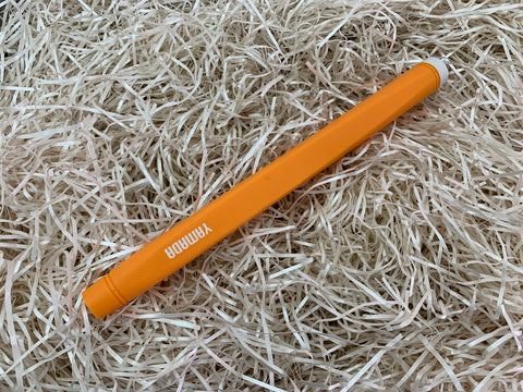Yamada Putter Grip Rubber Standard Size in Orange