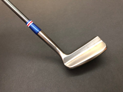 Miura Golf Putter KM-008 Smoked with Blue Edition Sakura Cover