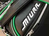 Miura Giken 40th Anniversary Bag Black with Headcovers - torque golf