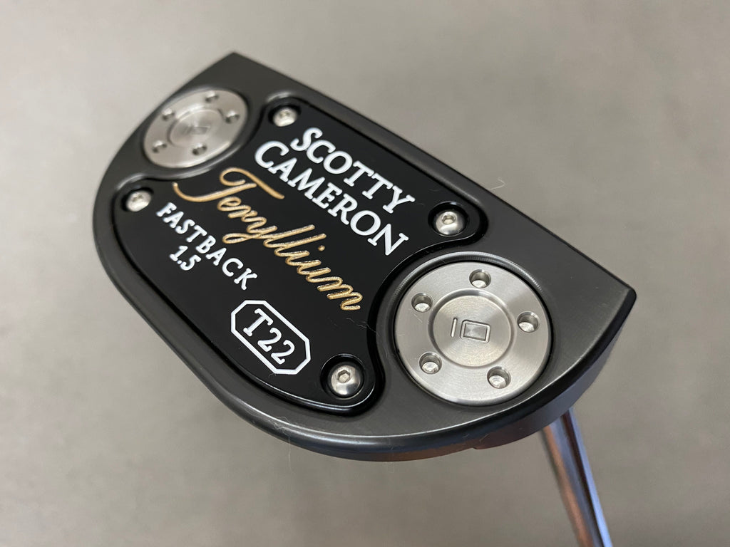 "Scotty Cameron Putter Teryllium Fastback 1.5 35"" - torque golf"