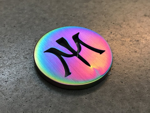 Miura Golf Ball Marker Chromatic