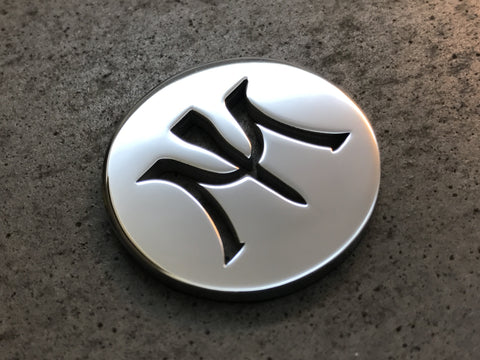 Miura Golf Ball Marker Mirror Chrome