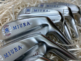 Miura Golf Irons Baby Blades Red White and Blue Fill - torque golf