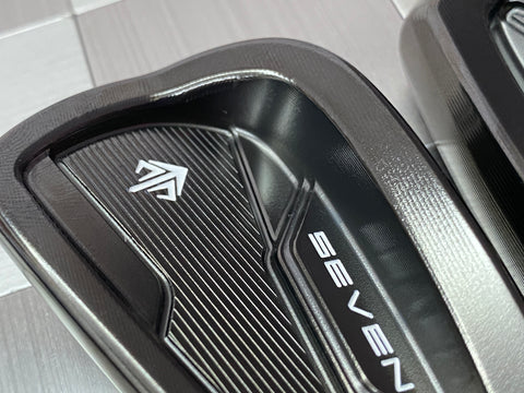 SEVEN Golf SC Irons Black DLC 5 to PW