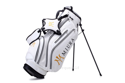 Miura Golf 2015 White Honeycomb Bag