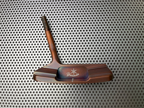 Yamada Golf Imperial Burnt Copper Handmade Putter Head Only