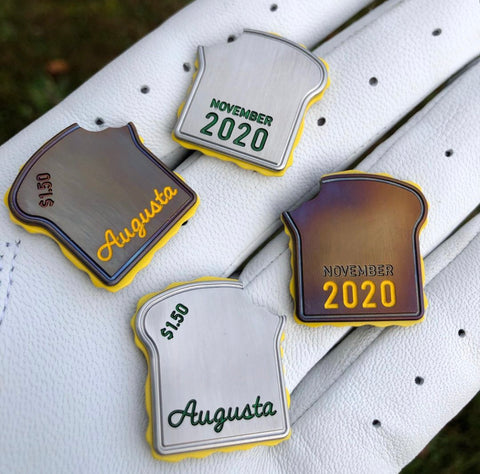 Kingdom Augusta Masters NOVEMBER Golf 2020 Pimento Cheese Sandwich Ball Marker