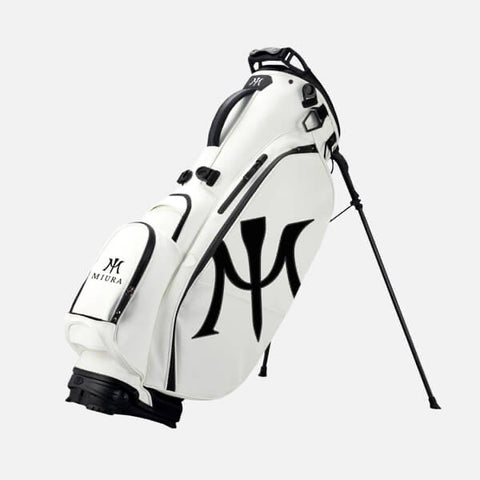 Miura Golf Stand Bag in White Version 2