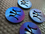 Miura Ball Marker Chromatic Blue - torque golf