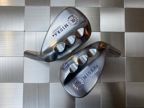 Miura Golf K Grind Set Red White Blue Paint Fill 51,55,59 - torque golf