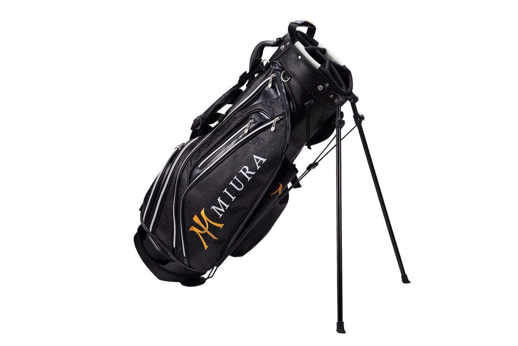 Miura Golf Stand Bag in Honey Comb Black