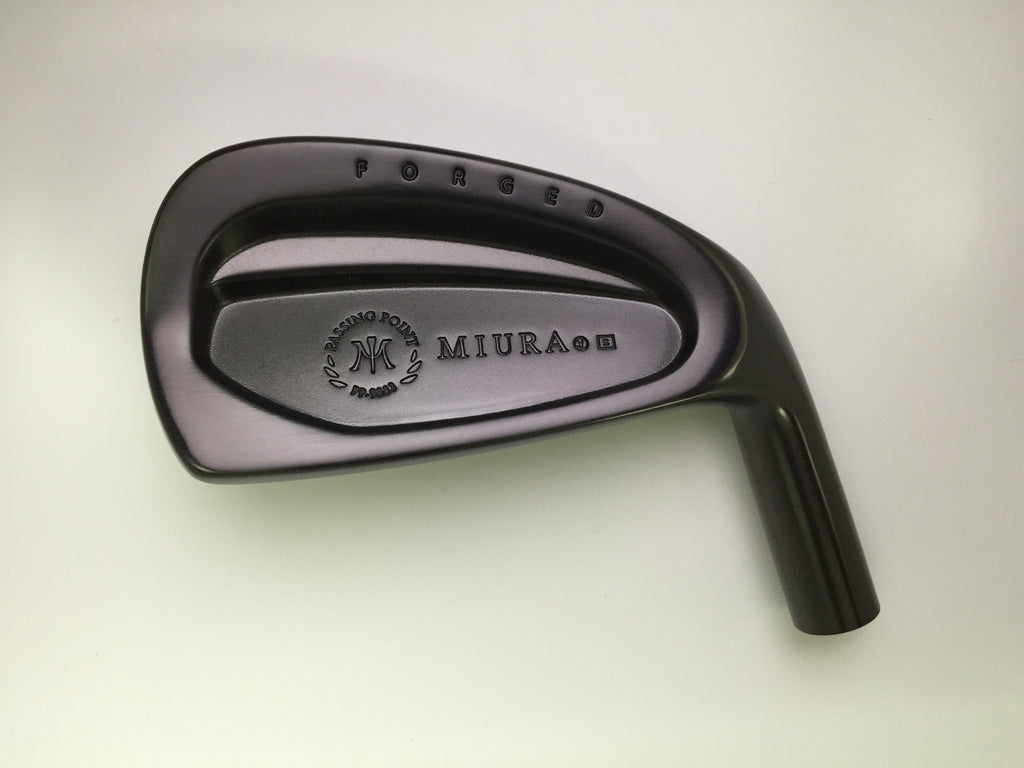 Miura Golf PP-9003 Straight Neck Black Boron 4 to PW - torque golf