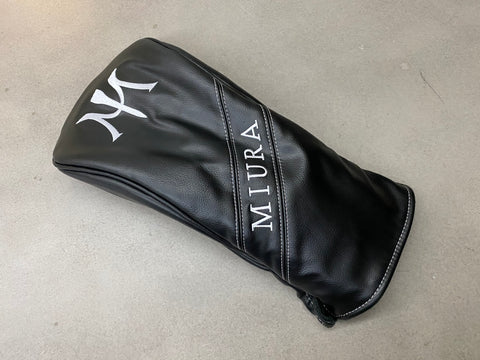 Miura Golf Driver Cover in Black - torque golf