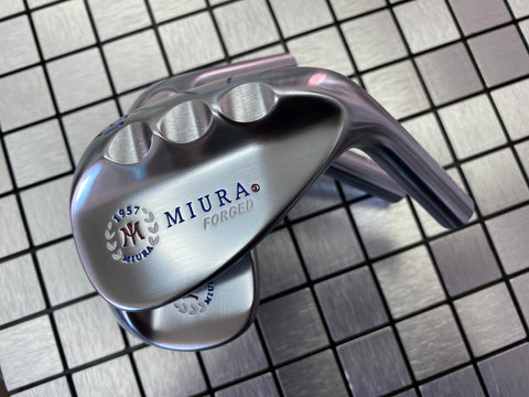 Miura Golf K Grind Set Red White Blue Paint Fill 51, 55, 59 - torque golf
