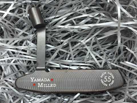 Yamada Golf Emperor Smoked Black Lefty Handmade Putter Head Only