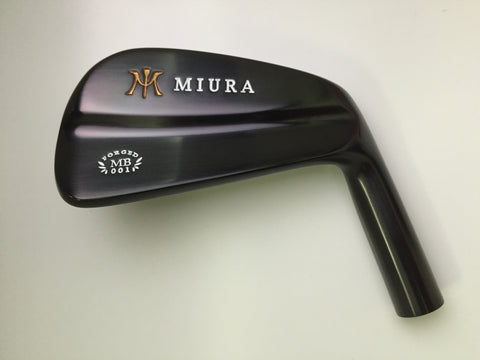 Miura Golf MB-001 Black Boron 4 to PW
