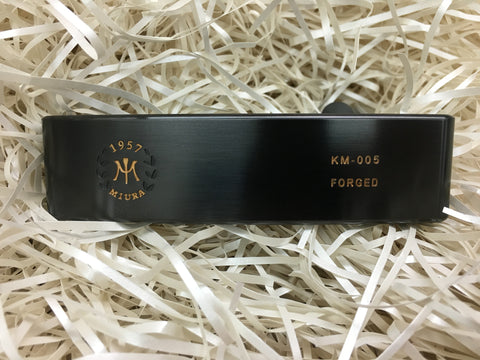 Miura KM-005 Putter Black Boron Limited - torque golf