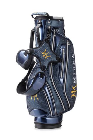 Miura Golf 2015 Royal Blue Honeycomb Bag - torque golf