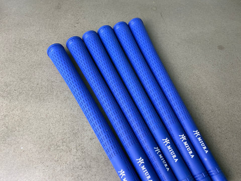 Miura Golf Grip Iron Pro Blue Set of 6
