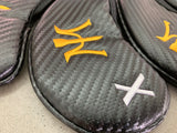 Miura Iron Headcovers in Black Carbon - torque golf