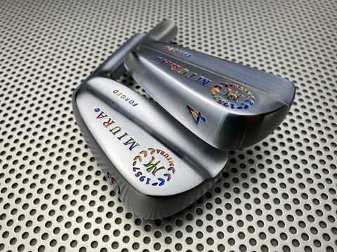 Miura Golf Irons Baby Blades Chromatic Paint Fill Ver 2.0