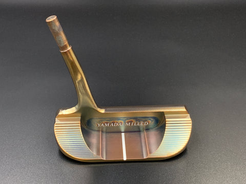 Yamada Golf Shogun Burnt Copper Handmade Putter Head Only