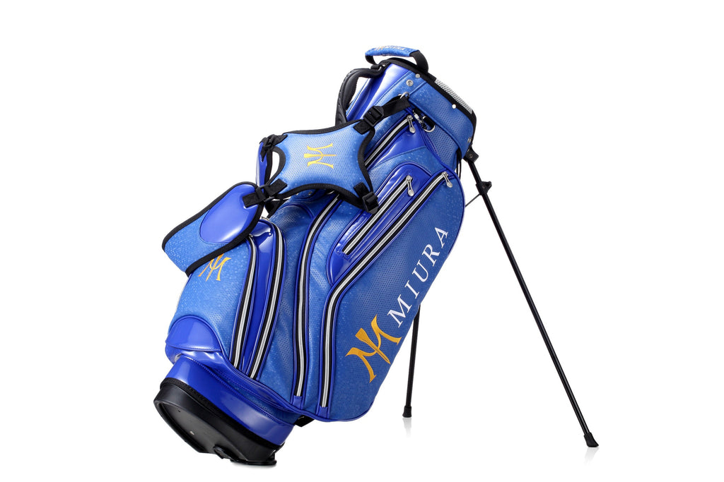 Miura Golf 2015 Blue Honeycomb Bag - torque golf
