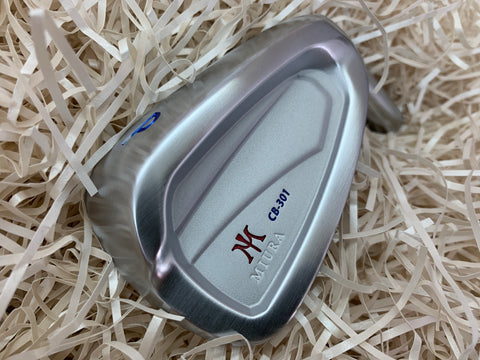 Miura Golf CB-301 Irons 4 to P Red White Blue Paint Fill