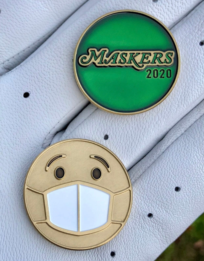 Maskers 2020 Golf Ball Marker by Kingdom Golf