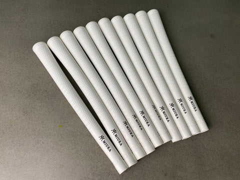 Miura Golf Grip Iron Pro White Set of 10