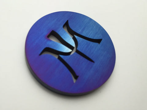 Miura Ball Marker Chromatic Blue