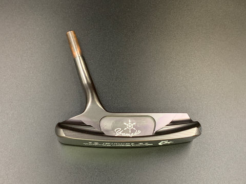 Yamada Golf Handmade Putter Samurai Gun Metal Head Only