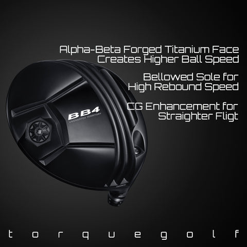 Progress Golf BB4 Driver - torque golf