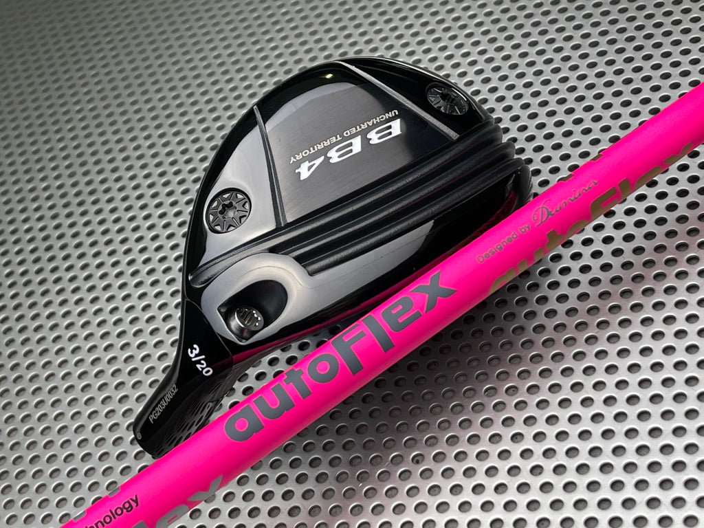 Progress Golf BB4 Titanium Utility Hybrid  with AutoFlex