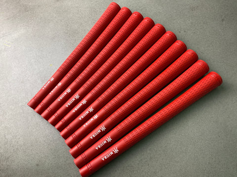 Miura Golf Grip Iron Pro Red Set of 10