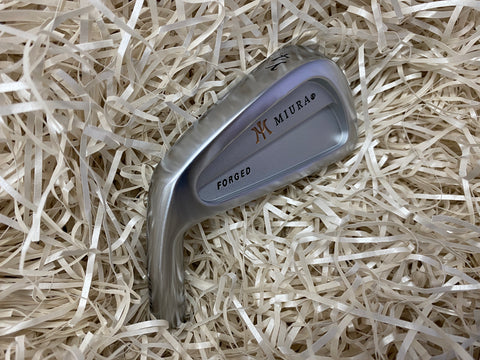Miura Golf Lefty Y Loose Heads. #4, #5, #8 and #P - torque golf