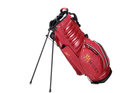 Miura Golf 2015 Red Honeycomb Bag - torque golf