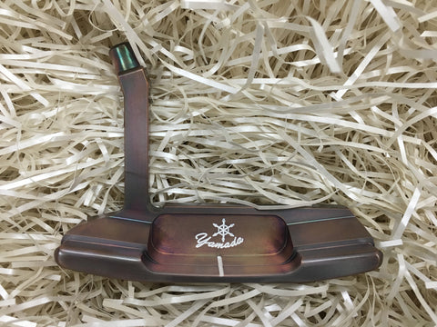 Yamada Golf Emperor Burnt Copper Handmade Putter Head Only