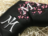 Miura Large Cherry Blossom Magnet Forged Putter Headcover