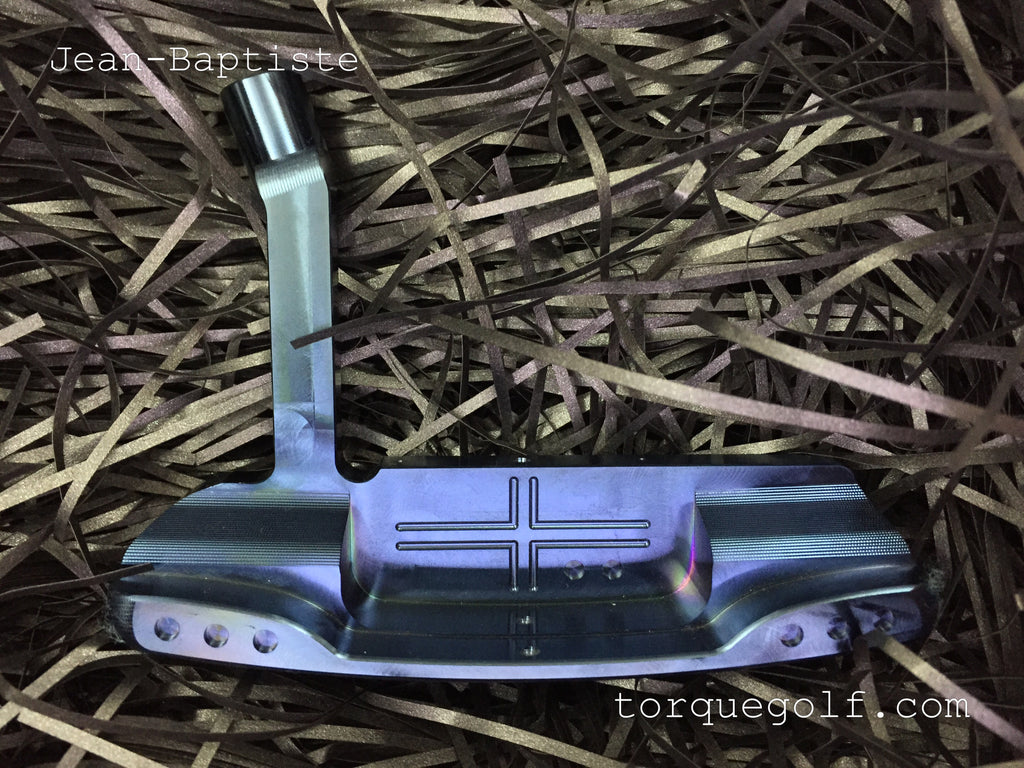 Jean-Baptiste Forged Putter JB501 Blue - torque golf