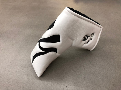 Miura Golf Putter Cover Large M in White - torque golf