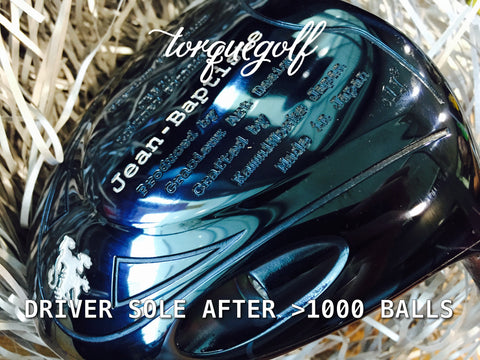 Jean-Baptiste Golf JB-501 Blue Ion De L'evolution Driver - torque golf